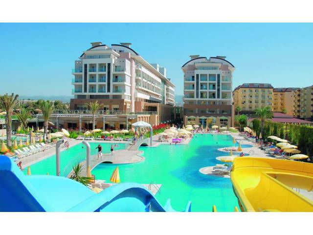 Hedef Beach Resort & Spa 5* Alanya - 325 Euro!!!